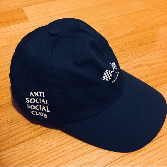 7fb470ca61b3 Anti Social Social Club Accessories - ANTISOCIAL SOCIAL CLUB BASEBALL CAP